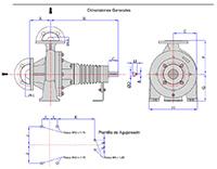 Diagrama de una Bomba de Aceite Térmico.